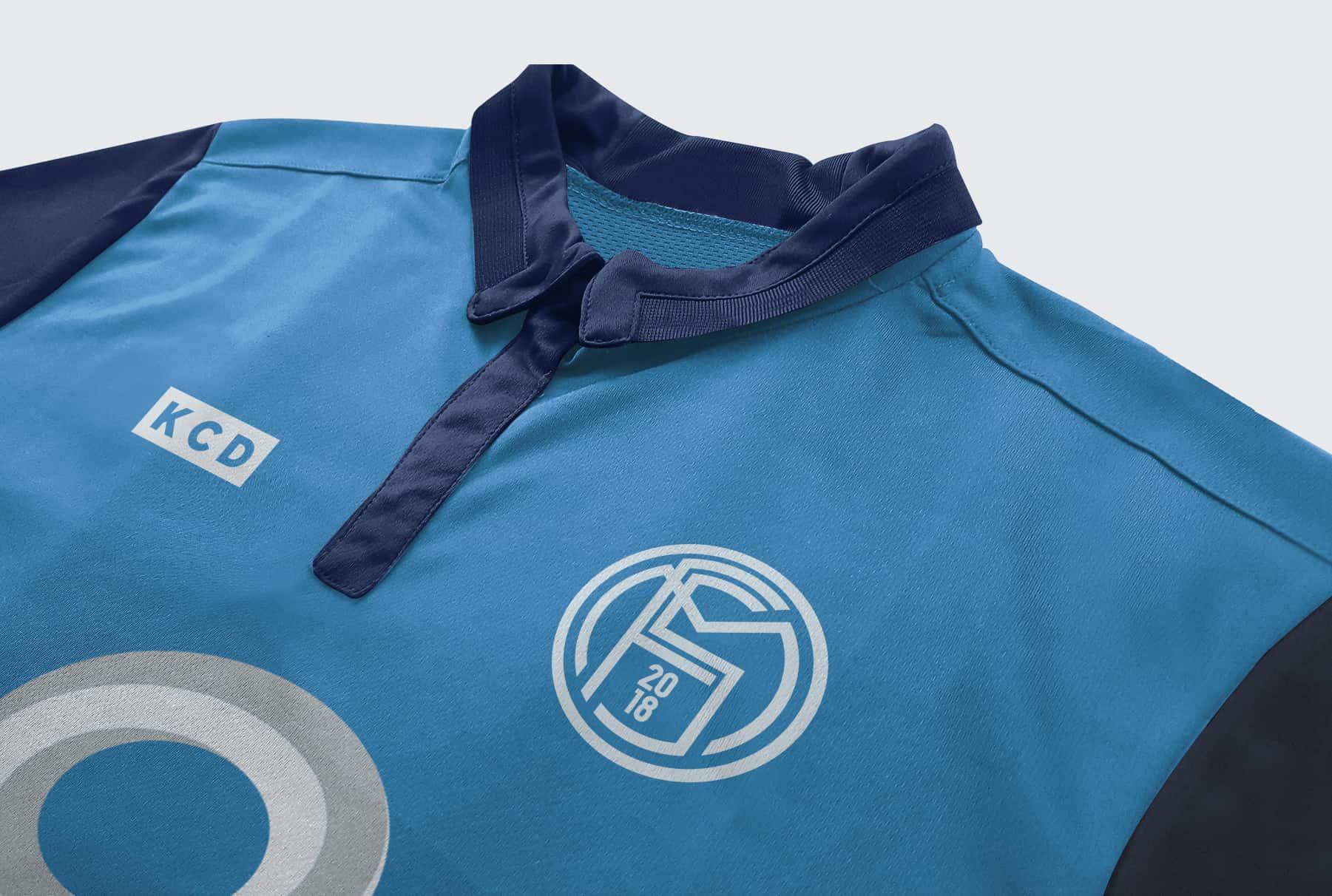 Football Shirt Mockup