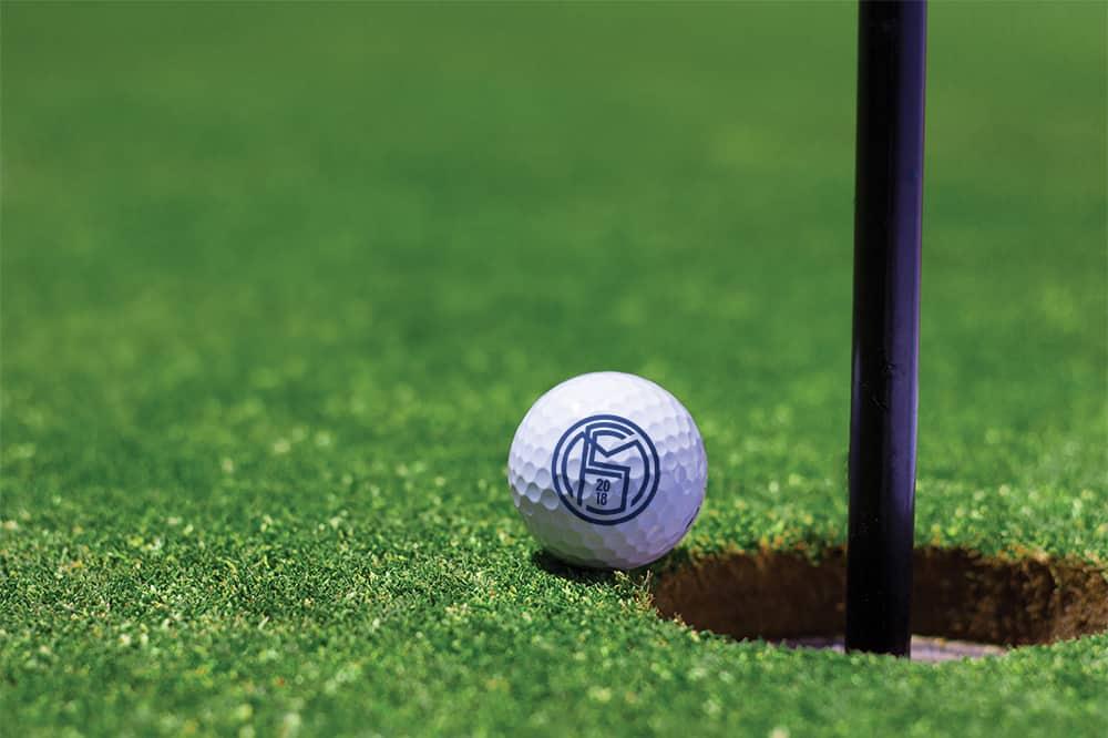 Free Golf Ball Mockup