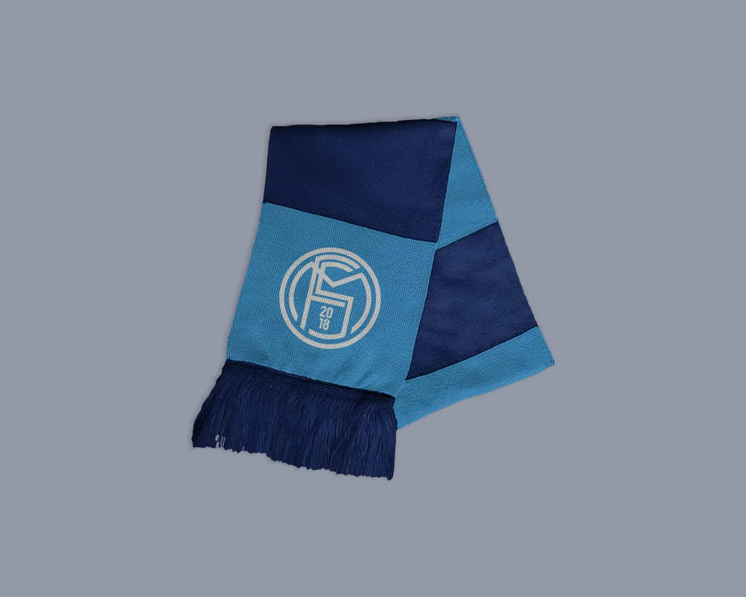 Team Scarf Free Sports Logo Mockups