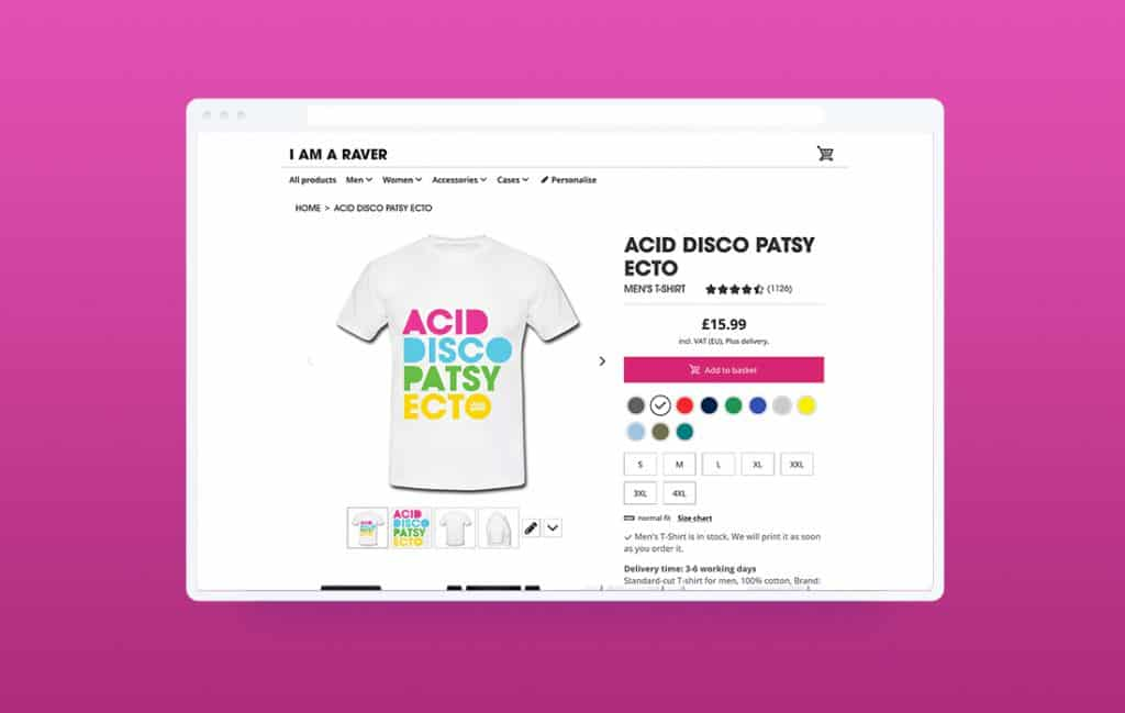 I Am A Raver Product Page